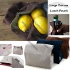 Large Canvas Lunch Pouch