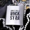 Party Like a Rock Star Hip Flask