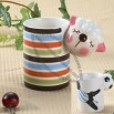 Ceramic Mug with Customized Shaped Handle