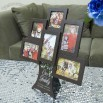Tree Design Wooden 6 Photo Frame