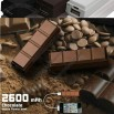 Chocolate Rechargerable Power Bank 2200mAh
