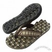 Men's EVA Massaging Slippers With Webbing Strap In Fashion Design