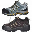 Good-quality Safety Shoe with Cow Leather Upper and Rubber Outsole