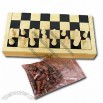 International Wooden Chess Set, Made of Wood, Sized 25 x 12.5 x 3.5cm, Gift Box
