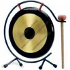 Gong set, set of three, includes stand and mallet, 8