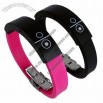 Fitness Silicone Vibrating Bluetooth Bracelet for Incoming Phone Call