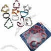 Cookie Cutter Set with Non-stick Coating, Colorful, Food Safe