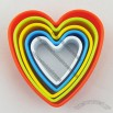Heart Shaped Plastic Cake Cutter