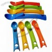 High-quality Colorful Plastic Ice Cream Scoops/Spoons with LFGB and FDA Marks