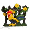 Cast Iron Rooster Napkin Holder