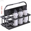 Collapsible Water Bottle Carrier for 8 Bottles