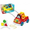 Fun Plastic Toy Car with Education Block