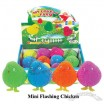 Mini Flashing Chicken Puffer Ball
