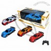 4 Functions Remote Control Cars with Light, Made of Plastic