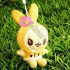 Portable Plush Toy Keychain