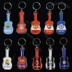 Violin Shaped Football Fans Keychain