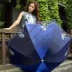 114cm Arc Steel Rib 8K Fold Umbrella for Ladies