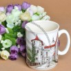 Scenery Relief Ceramic Mug