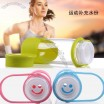 Portable Silicone Hand Strap Glass Cup