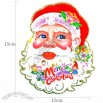 Santa Head Sticker