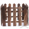 Wooden Fence for Christmas Decoration