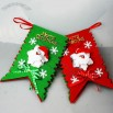 Xmas Santa Claus Hanging Flags