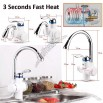 Fast Electric Heat Faucet, Tankless Water Tap