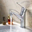 Classic Full Copper Basin Hot And Cold Single Hole Faucet Mixer Water-Tap