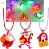 Christmas Flash Light Necklace