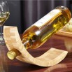 Bamboo Personalized Wine Bottle Holder
