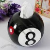 Snooker Ball Shaped Desktop Tissue Box/Organizer Box