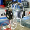 Trnsparent Acrylic Earphone Stand / Headphone Holder