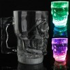 Flash Colorful Skull Glass