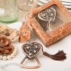 Antique Copper Heart Bottle Opener