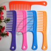 Wide-tooth Plastic Comb for Curls Hair