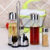 Oil and Vinegar Cruet Bottles Tableware Shaker Set