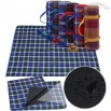Grid Pattern Oxford Camping Mat