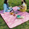 Plaid Outdoor Picnic Mat