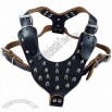 Bullet Leather Harness With Nails