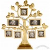 Family Tree Photo Frame With 7 Hanging Picture Frames