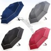 Fold Auto Open Carom Cloth Windproof Umbrella