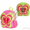 Fashion School Backpack with Butterfly Shape for Kids