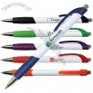 White Merit Grip Pen