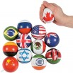 World National Flag Stress Balls