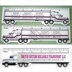Truck shaped Ruler with Heat-transfer Printing Logo