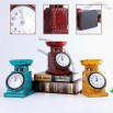 Polyresin Candle Stand Clock