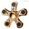 Five-blade Aluminum Alloy Fidget Spinner with Copper Bearing