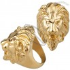 Fashion Lion Stainless Steel Prime Ring for Men