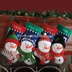 3-D Snowfamily Stockings