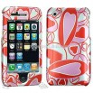 Apple iPhone 3G Hearts Hard Case